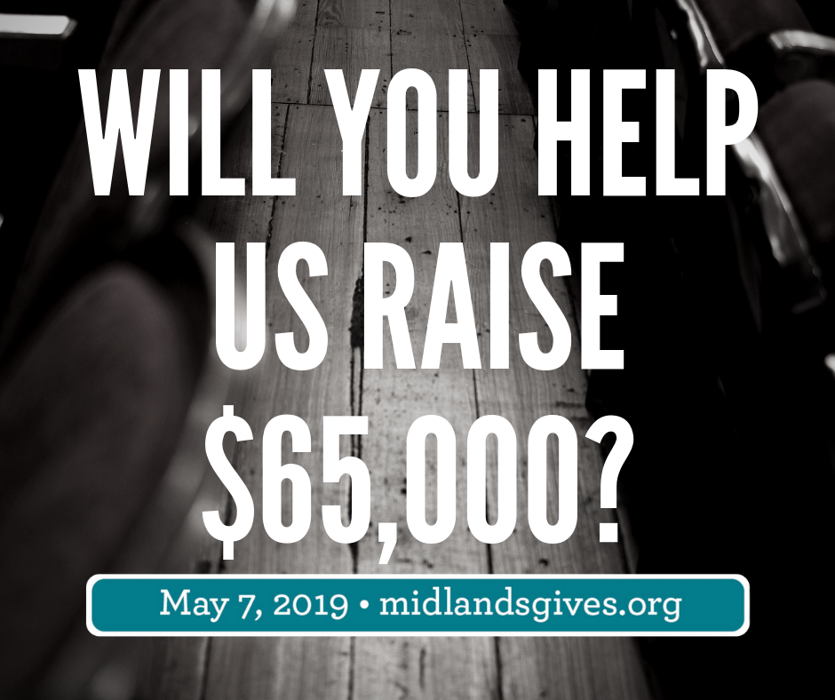 Will you help us raise 1